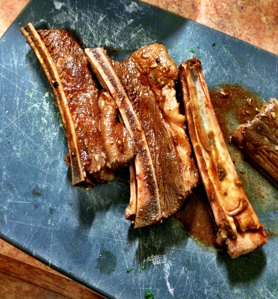 BBQ Beef Short Ribs (4/5)