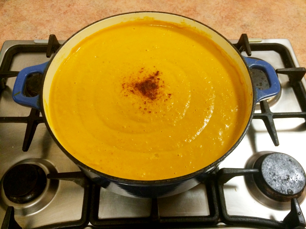 Heston Blumenthal's Pumpkin Soup (1/6)