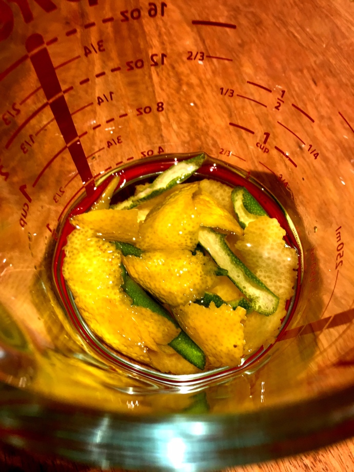 Lemon-Flavoured Oil
