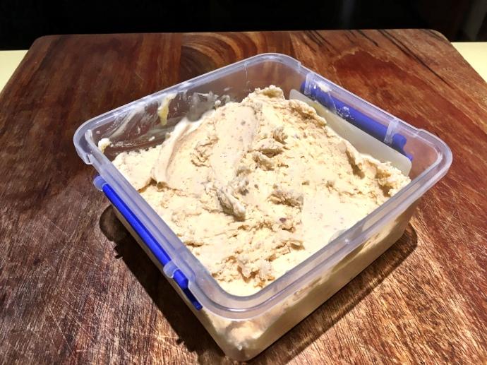 Honey Macadamia Dry Ice Ice Cream